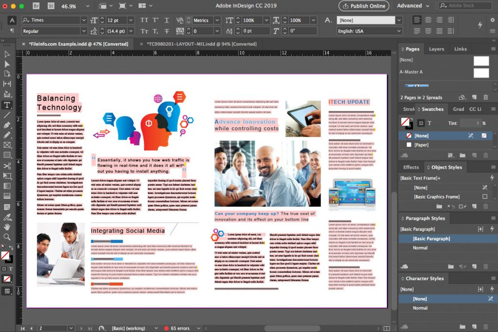 Adobe InDesign Latest Version