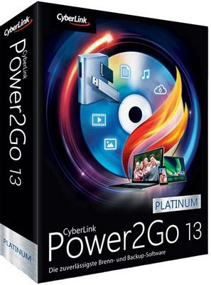 CyberLink Power2Go Platinum 13.0.0523.0 Pre-Activated Free Download