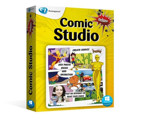 Digital Comic Studio Deluxe 1.0.6.0 With Crack [Latest]