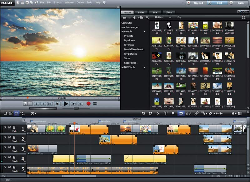 MAGIX Movie Edit Pro 2020 Premium 19.0.2.58 With Crack Download [Latest]