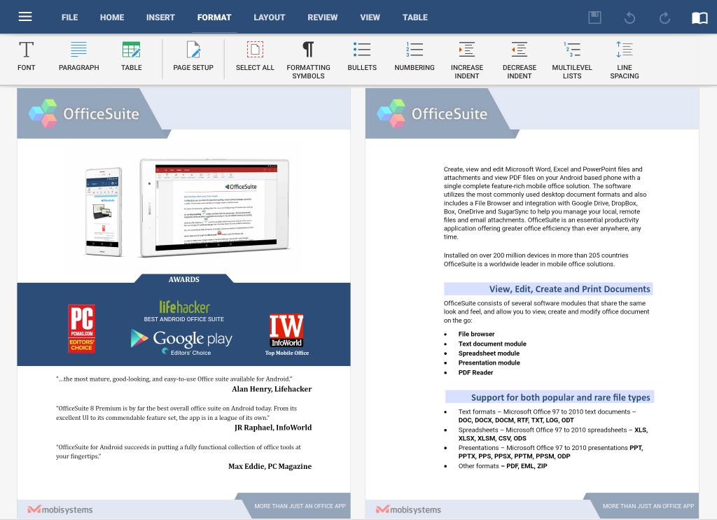 OfficeSuite PC Premium Crack
