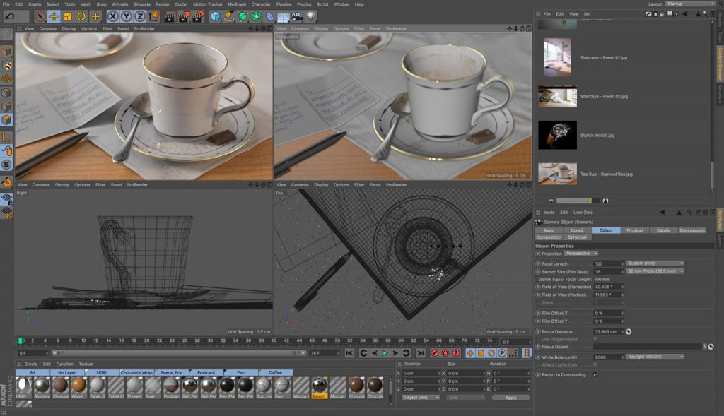 Maxon CINEMA 4D Studio S22.016 Full Version + Crack [Latest]