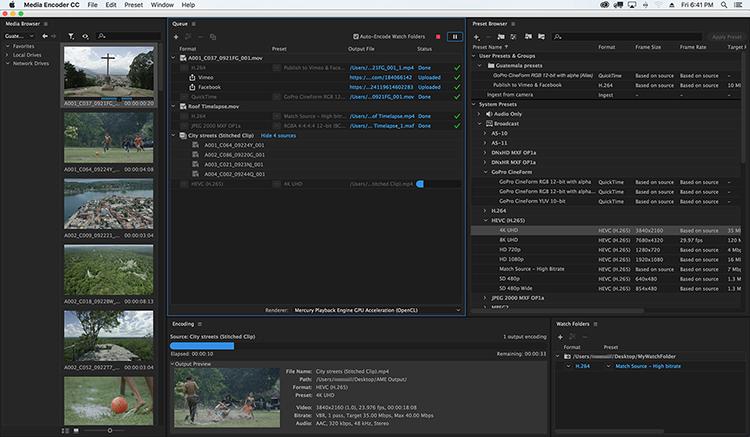 Adobe Media Encoder 2019 v13.1.5.35 Pre-Activated [Latest]