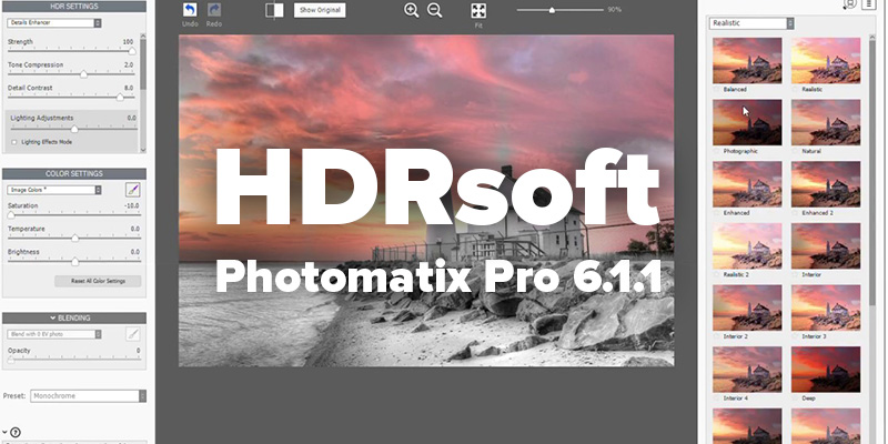 HDRsoft Photomatix Pro Crack v6.1.3 + Keygen [Latest]