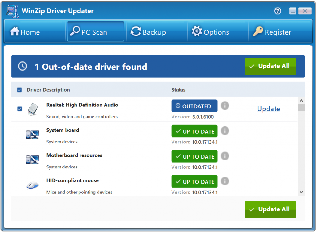 WinZip Driver Updater 5.33.3.2 With Crack [Latest]