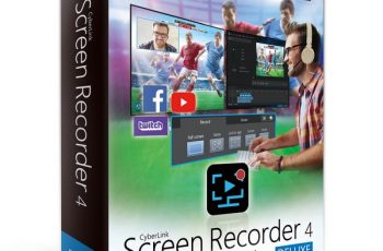 CyberLink Screen Recorder Deluxe v4.2.3.8860 + Crack [Full]