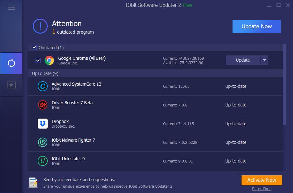 IObit Software Updater Key