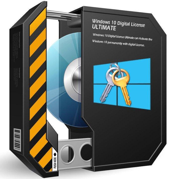 Windows 10 Digital License Ultimate v1.6 With Crack Free Download