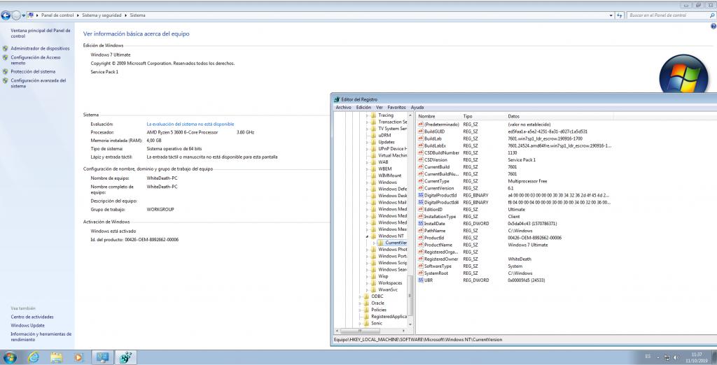 Windows 7 PreActivated