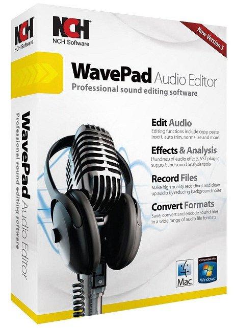 NCH WavePad Crack
