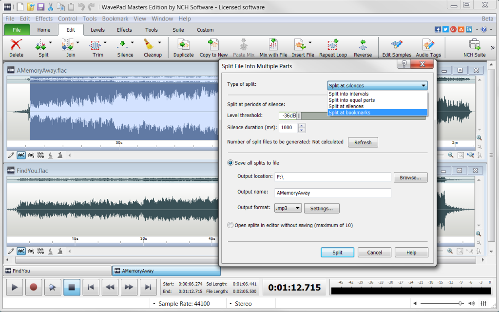 NCH WavePad Audio Editor Crack