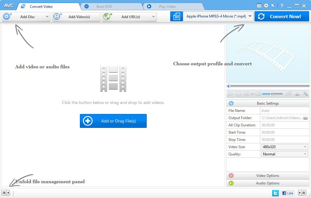 AnyVideo Converter Professional Crack