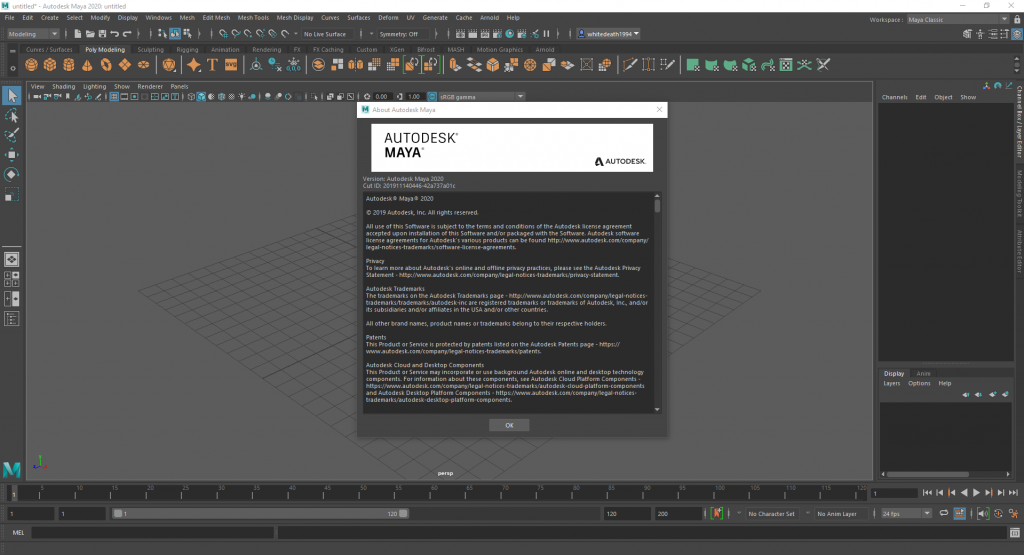 Autodesk Maya 2020 (x64) with Full Crack