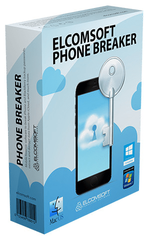Elcomsoft Phone Breaker Forensic