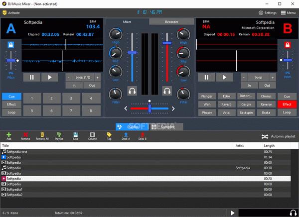 Program4Pc DJ Music Mixer 8 Crack