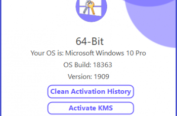 Win10actPlus v1.0 (Windows 10 Activator)