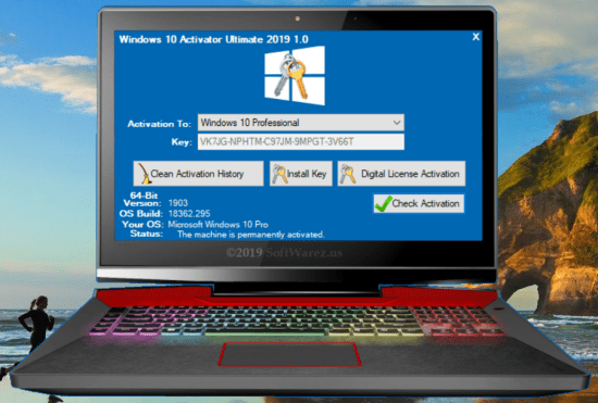 Windows 10 Activator Ultimate 2020