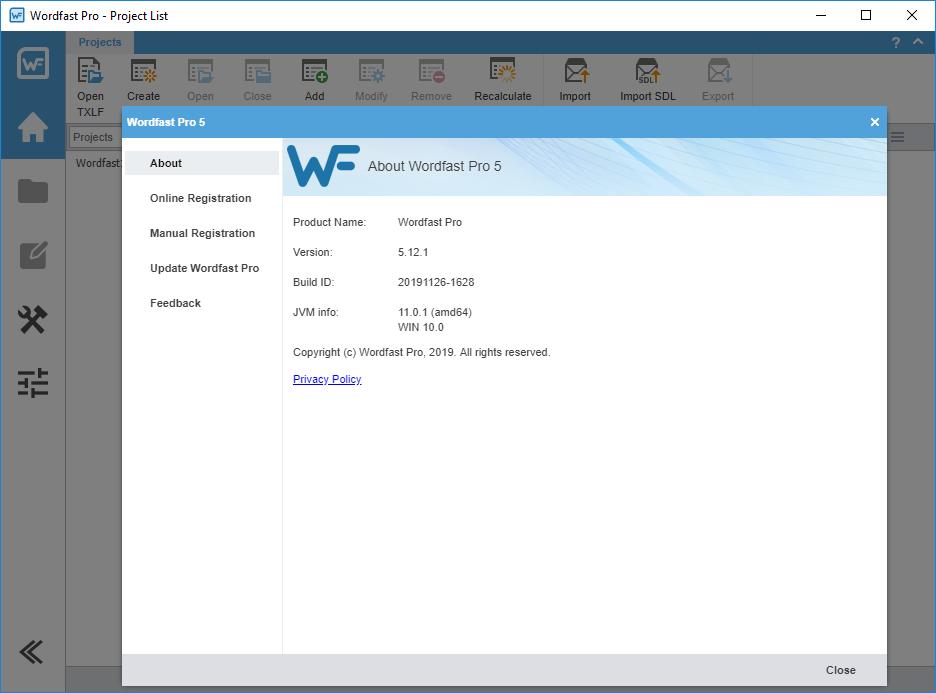 Wordfast Pro 5 Crack