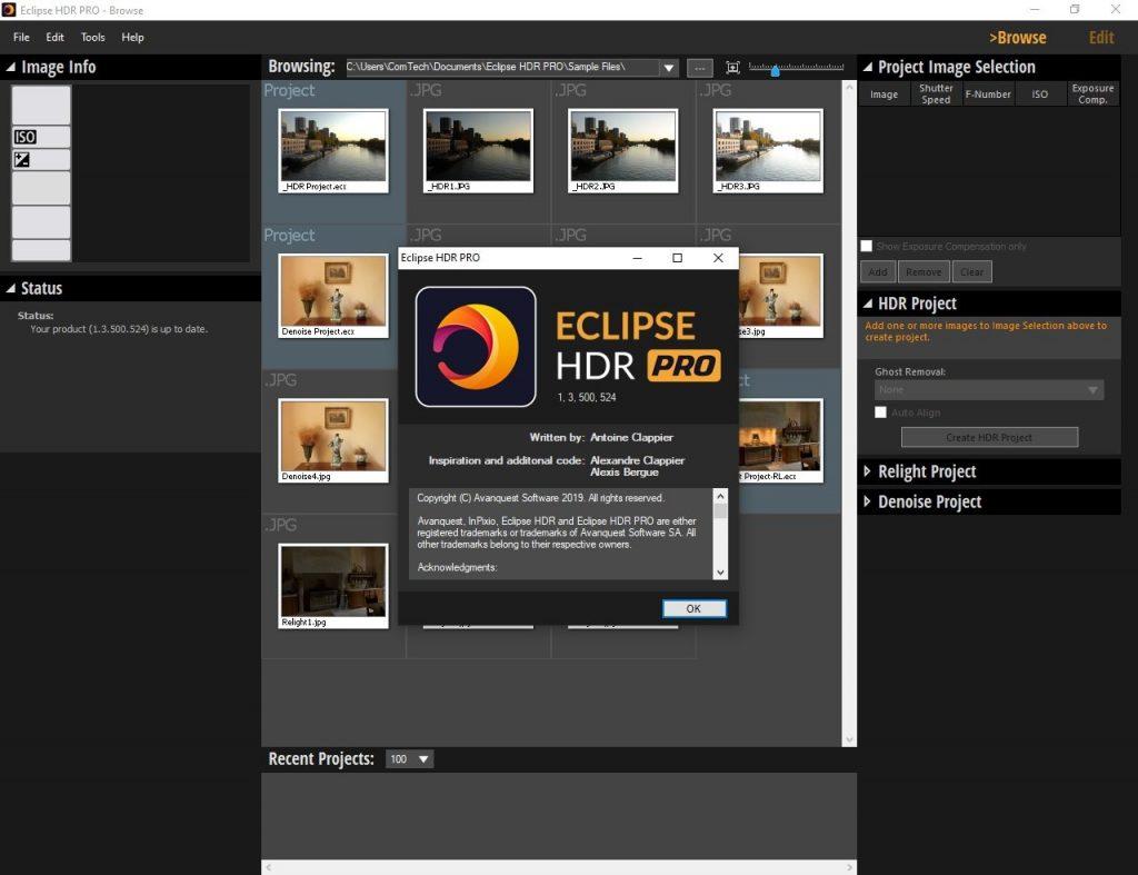 InPixio Eclipse HDR PRO 1.3.500.524 + Crack